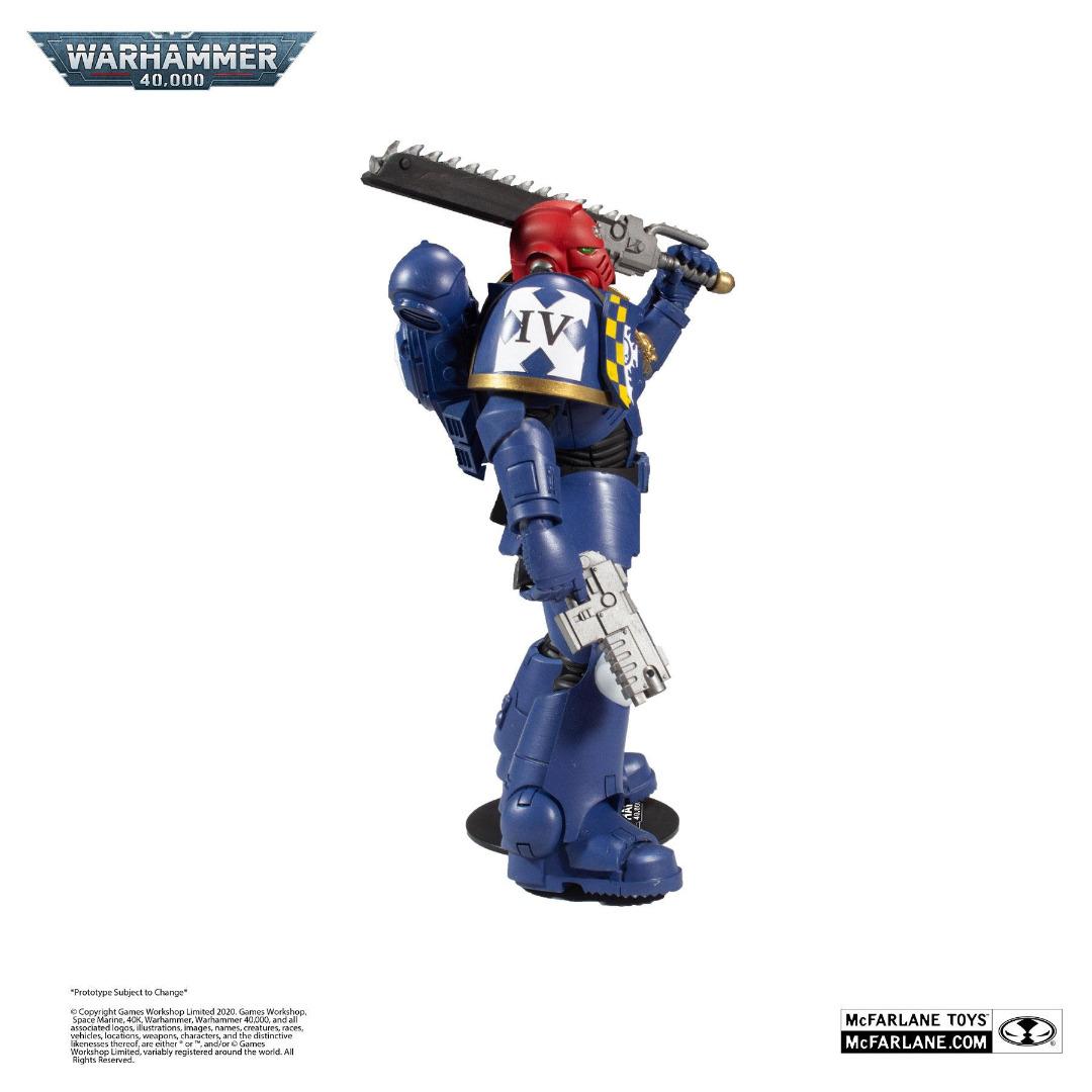 Warhammer 40k Action Figure Space Marine 18 cm