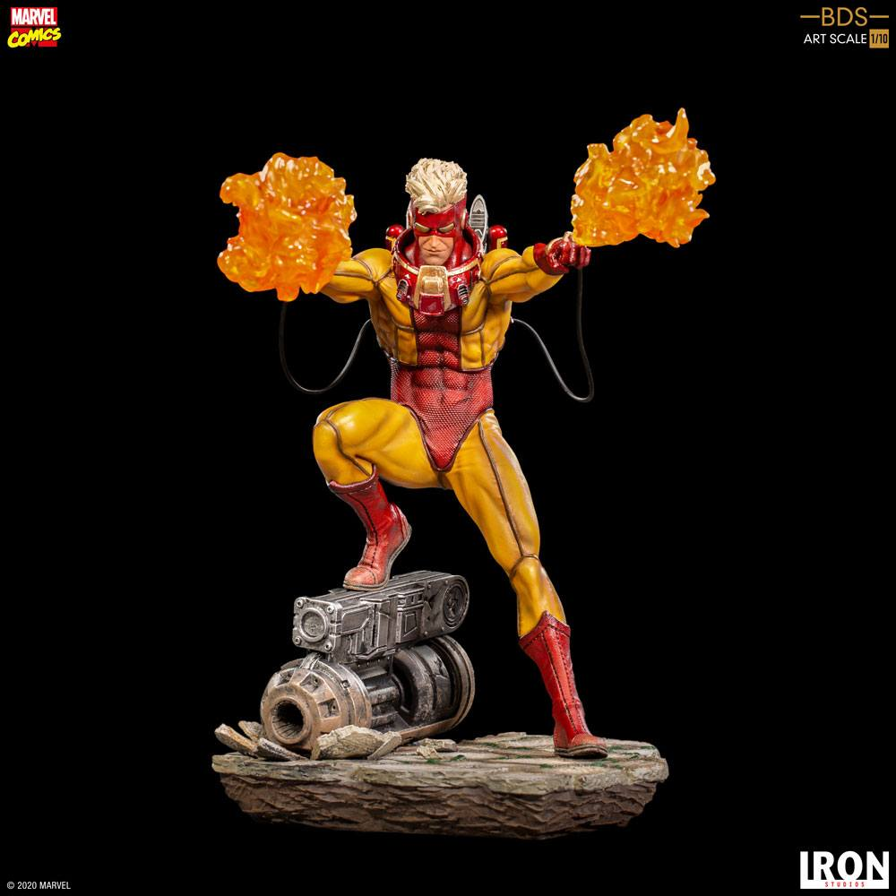 Marvel Comics BDS Art Scale Statue 1/10 Pyro 19 cm