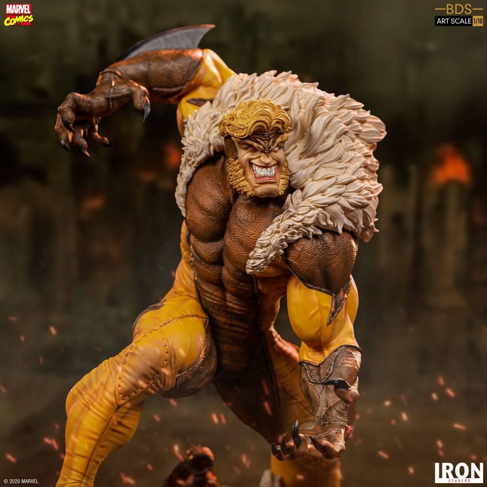 Marvel Comics BDS Art Scale Statue 1/10 Sabretooth 21 cm