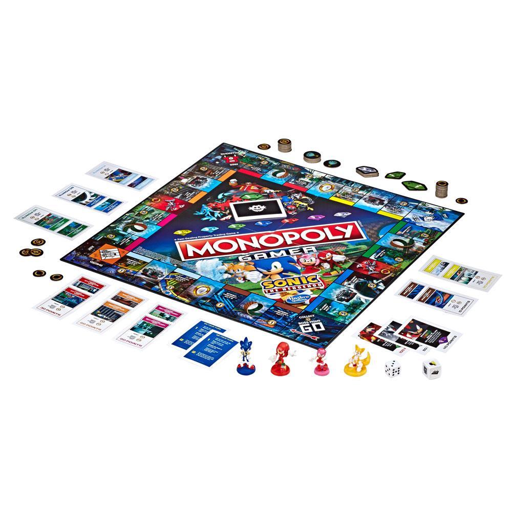Nintendo Board Game Monopoly Gamer Sonic the Hedgehog Edition English Vers