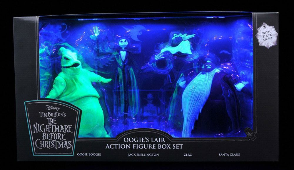 Nightmare before Christmas Action Figure Box Set Oogie's Lair SDCC 2020 Exc