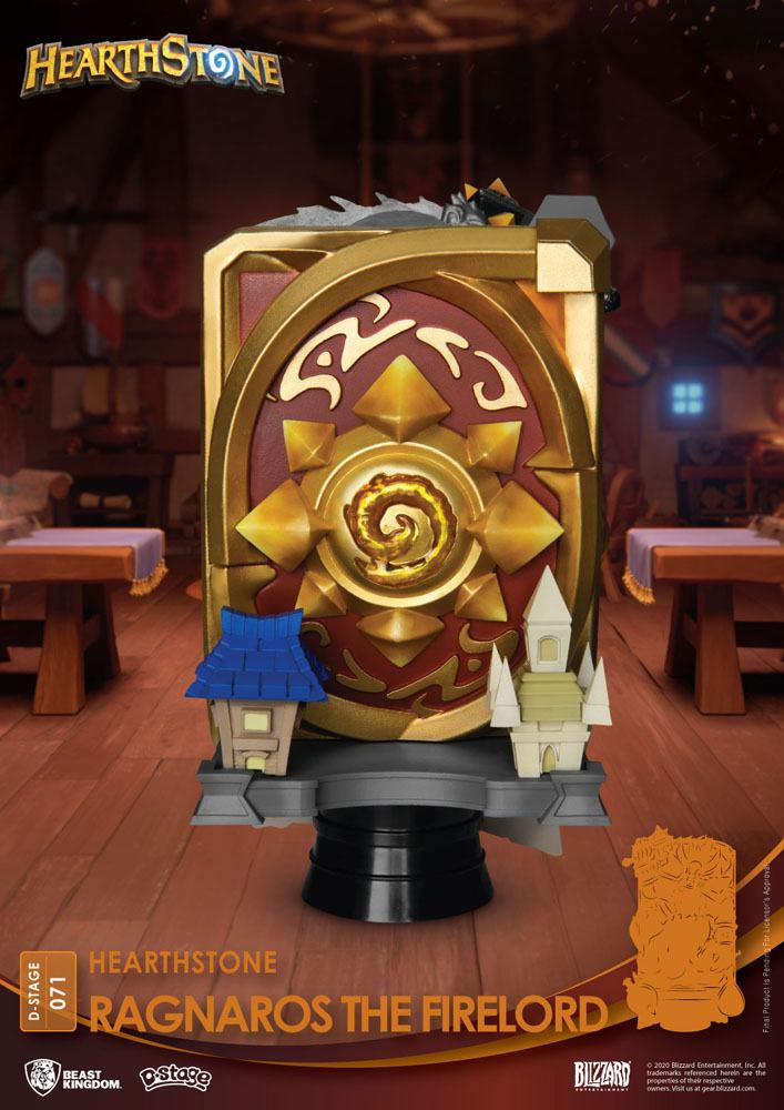 Hearthstone: Heroes of Warcraft D-Stage Diorama Ragnaros the Firelord 16 cm