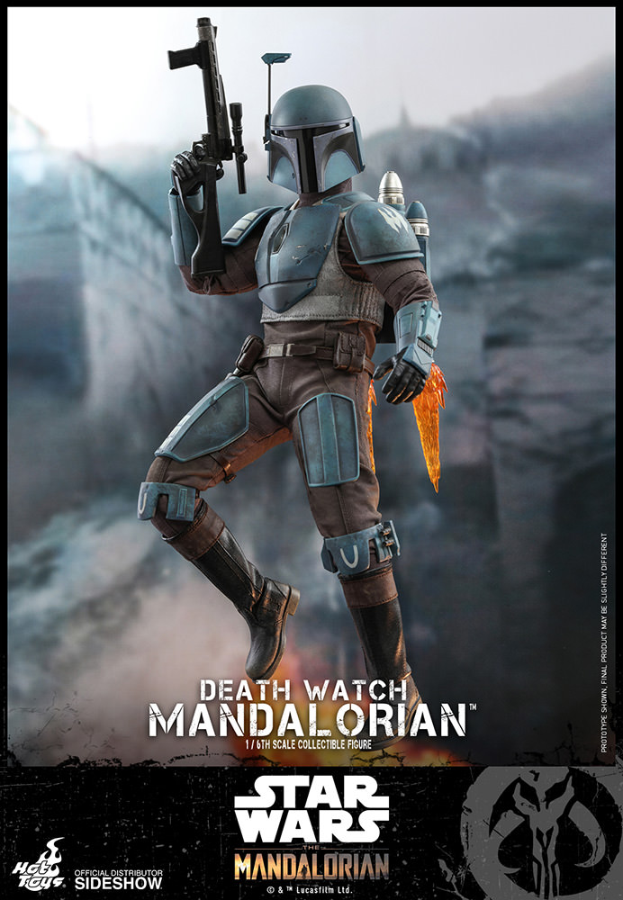 Star Wars: The Mandalorian - Death Watch Mandalorian 1:6 Scale Figure