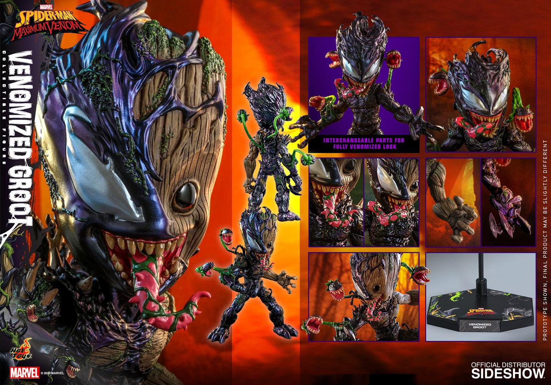 Marvel: Maximum Venom - Venomized Groot 1:6 Scale Figure