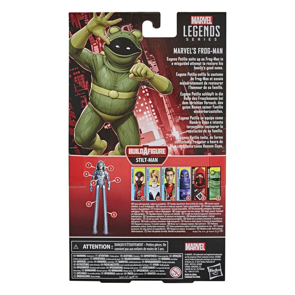 Marvel Spider-Man Legends Series Marvel's Frog-Man Action Figure 15 cm