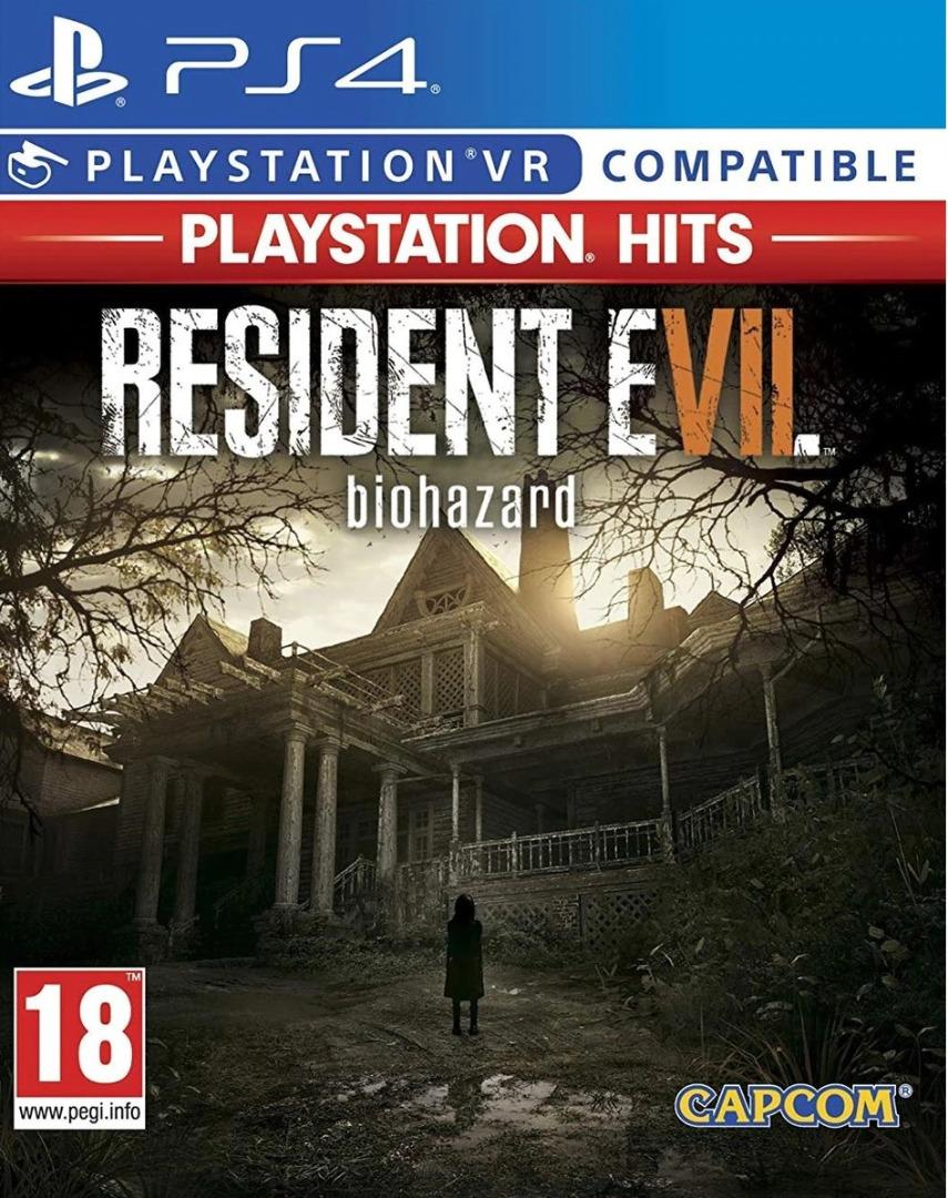 Resident Evil VII Biohazard VR PS4 (Novo)