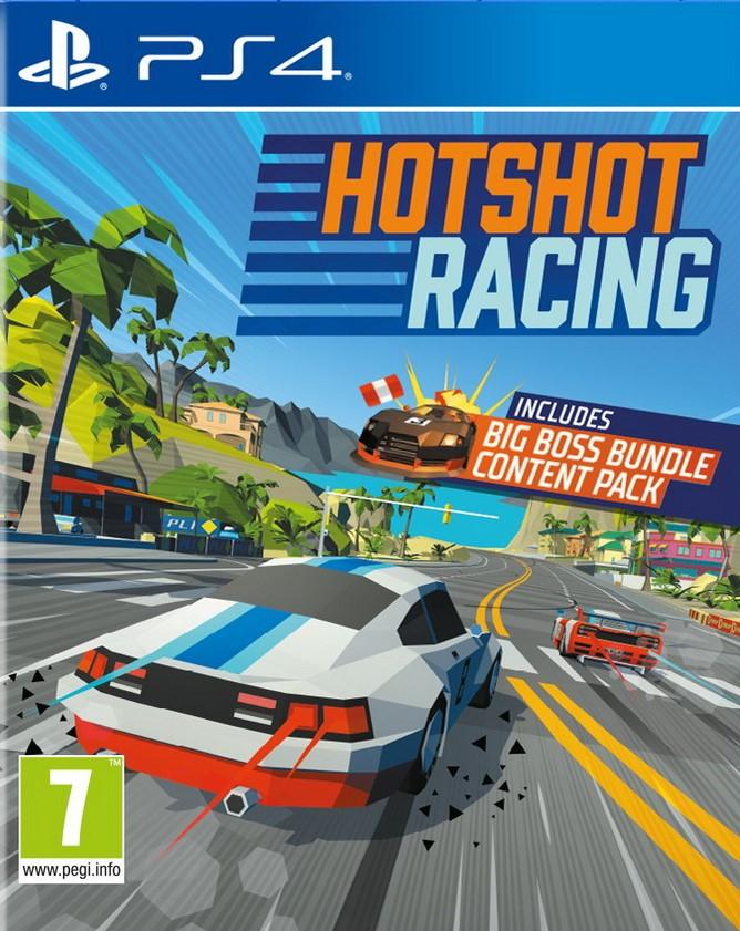 Hotshot Racing PS4 (Novo)