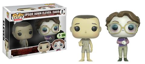 Pop! TV: Upside Down Eleven and Barb ECCC 2017 Edition Vinyl Figure 10 cm