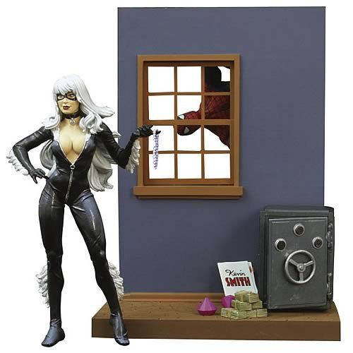 Action Figure Marvel Select Black Cat 17 cm