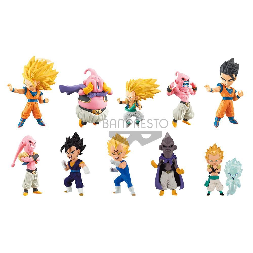 Dragonball Super WCF ChiBi Figures Assortment Buu Saga (9 figures) 7 cm