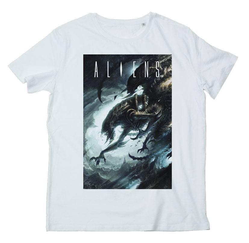 T-Shirt Alien Dark Cave Tamanho XL