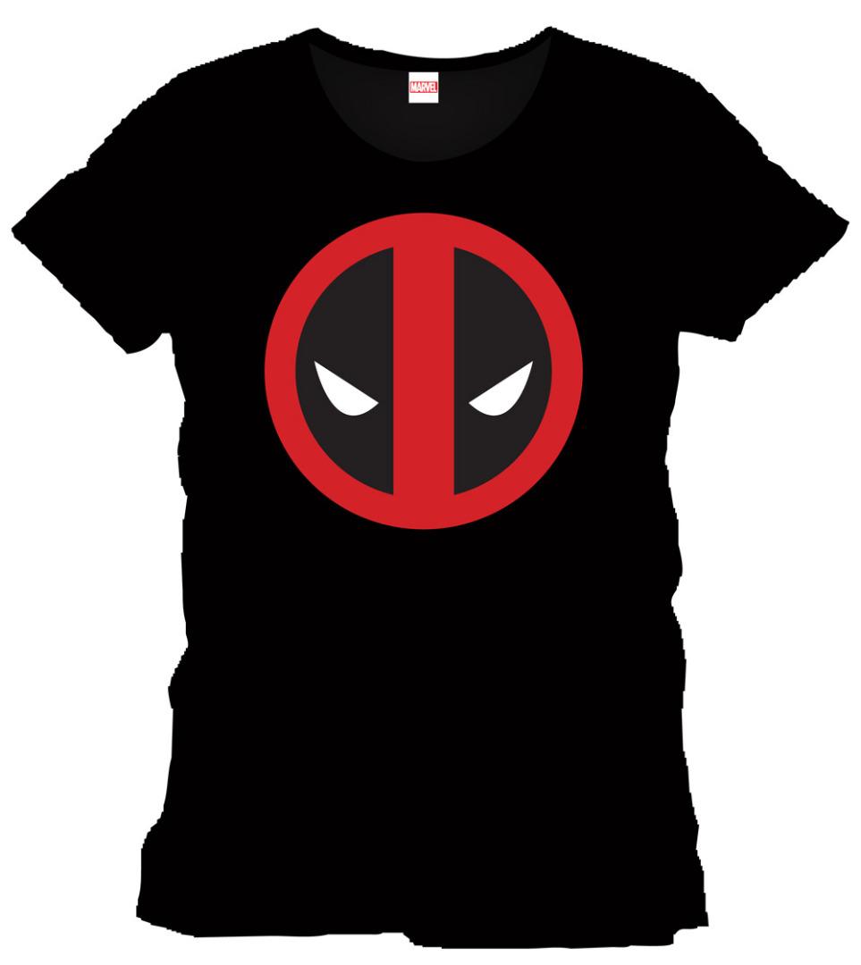T-Shirt Marvel Comics Dead Pool Logo Tamanho M