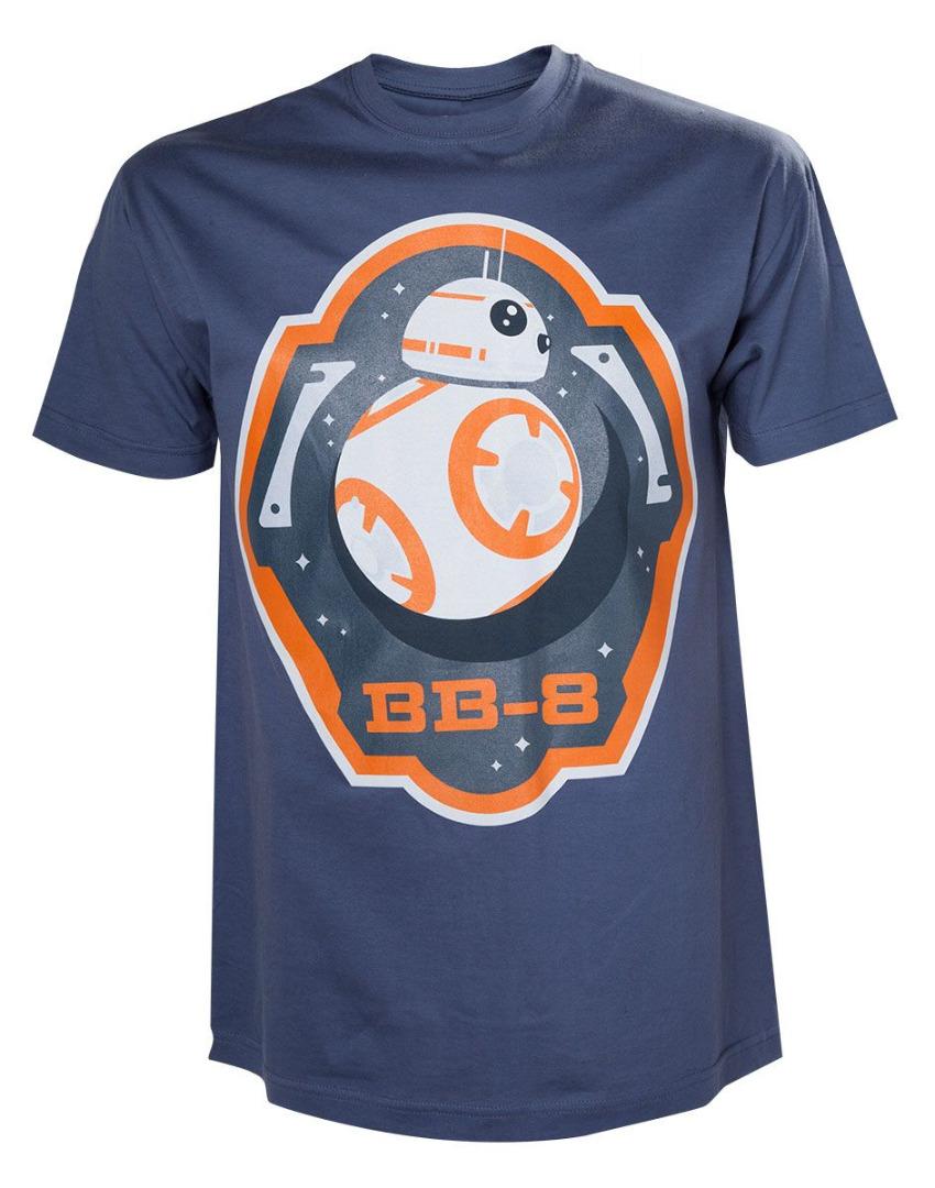 Star Wars T-Shirt BB-8 & Stars Tamanho L