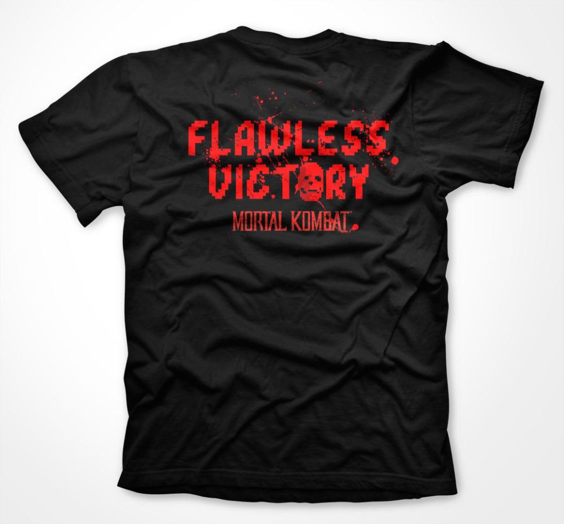 T-Shirt Mortal Kombat Klassik Tamanho L