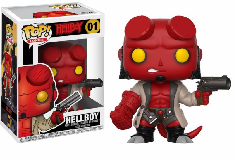 Pop! Comics: Hellboy - Hellboy with Jacket Vinyl Figure 10 cm