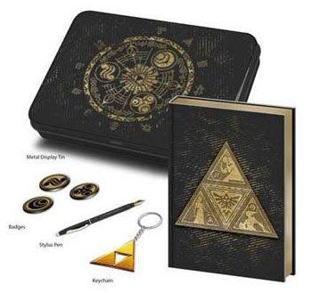 Legend of Zelda Premium Stationery Tin Box Set Triforce