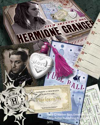 Harry Potter Artefact Box Hermione Granger