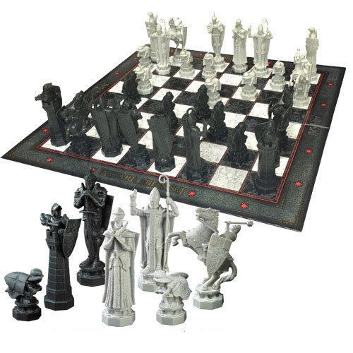 Xadrez Harry Potter Chess Set Wizards Chess