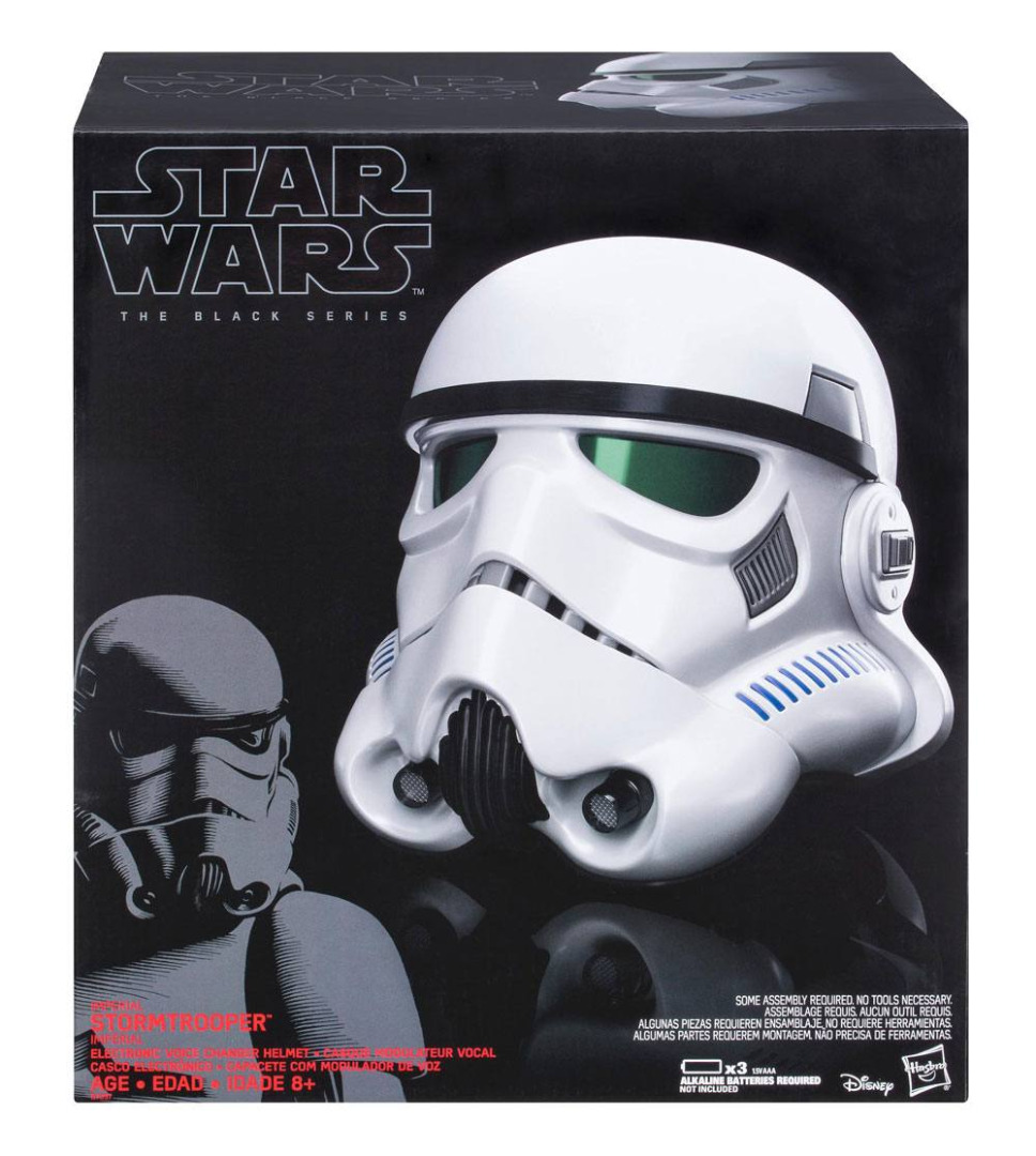 Star Wars Rogue One Black Series Electronic Voice Changer Helmet Imperial