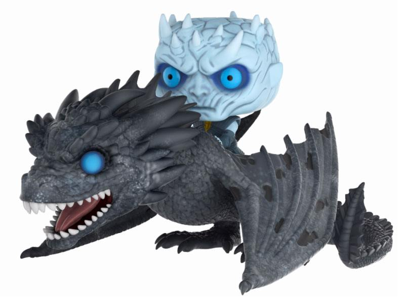Game of Thrones POP! Rides Vinyl Figure Night King & Dragon 15 cm