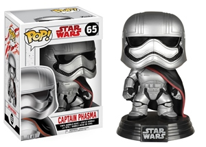 Pop! Bobble: Star Wars: E8 The Last Jedi: Captain Phasma Vinyl Figure 10 cm