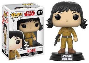 Pop! Bobble: Star Wars: E8 The Last Jedi: Rose Vinyl Figure 10 cm