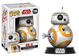Pop! Bobble: Star Wars: E8 The Last Jedi: BB-8 Vinyl Figure 10 cm