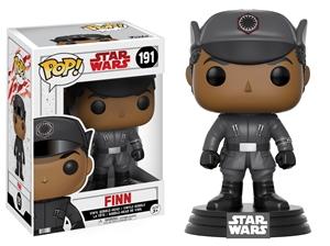 Pop! Bobble: Star Wars: E8 The Last Jedi: Finn Vinyl Figure 10 cm
