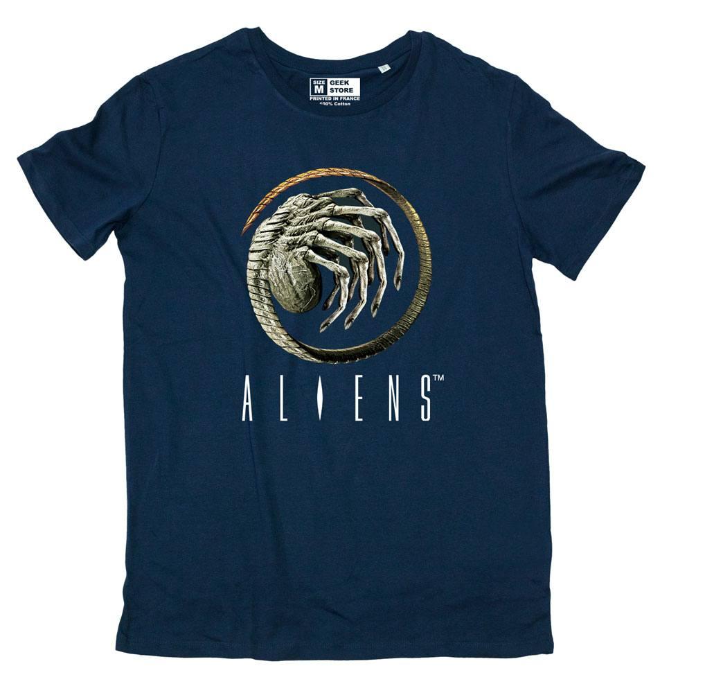 T-Shirt Alien Chestburster Tamanho S