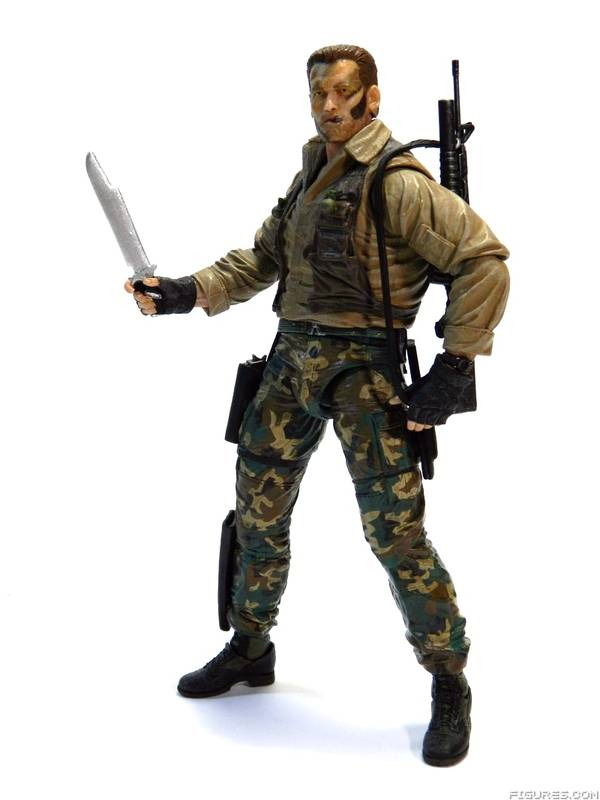 Predator Jungle Extraction Dutch Action Figure 30th Anniversary 20 cm
