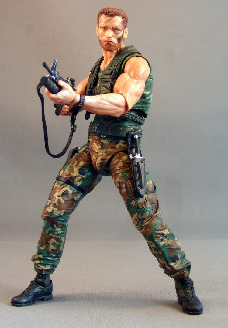 Predator Jungle Extraction Dutch Action Figure 30th Anniversary 20 cm