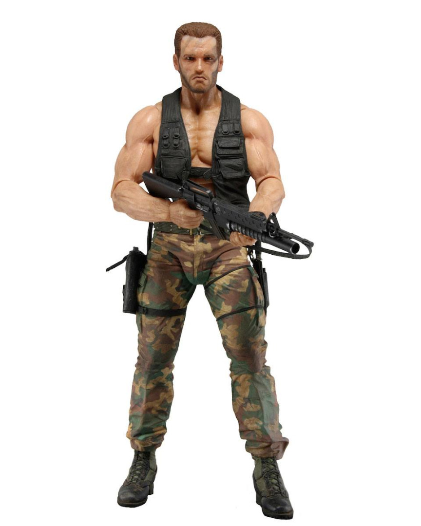 Predator Jungle Extraction Dutch Action Figures 30th Anniversary 20 cm