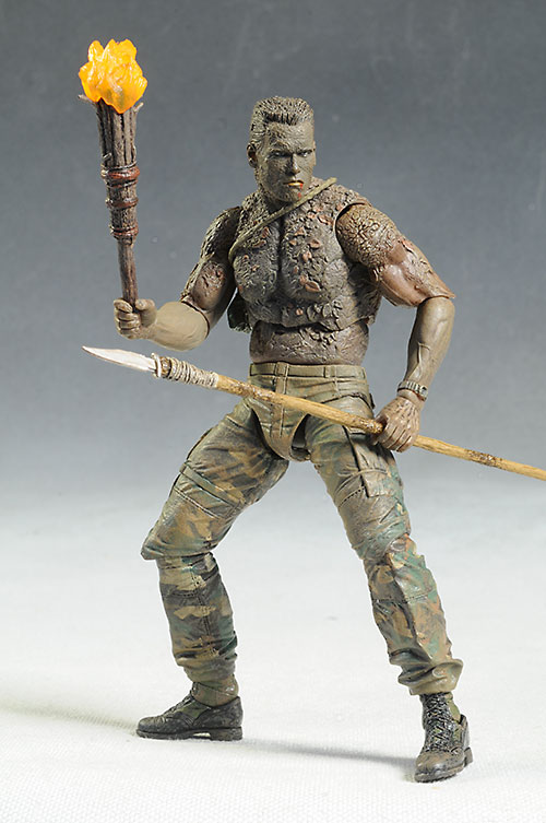 Predator Jungle Disguise Dutch Action Figure 30th Anniversary 20 cm