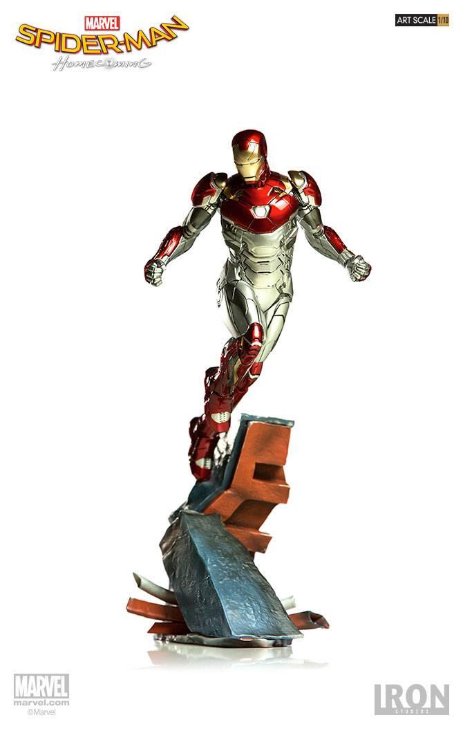 Spider-Man Homecoming Battle Diorama Series Statue 1/10 Iron Man Mark XLVII