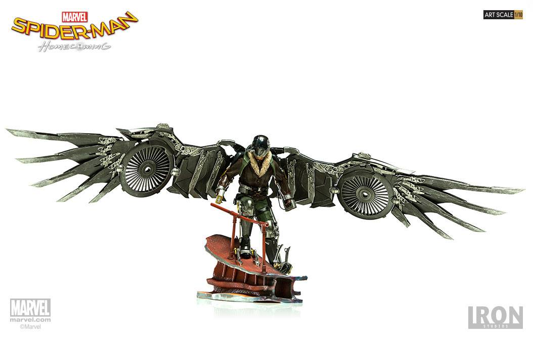 Spider-Man Homecoming Battle Diorama Series Statue 1/10 Vulture 22 cm