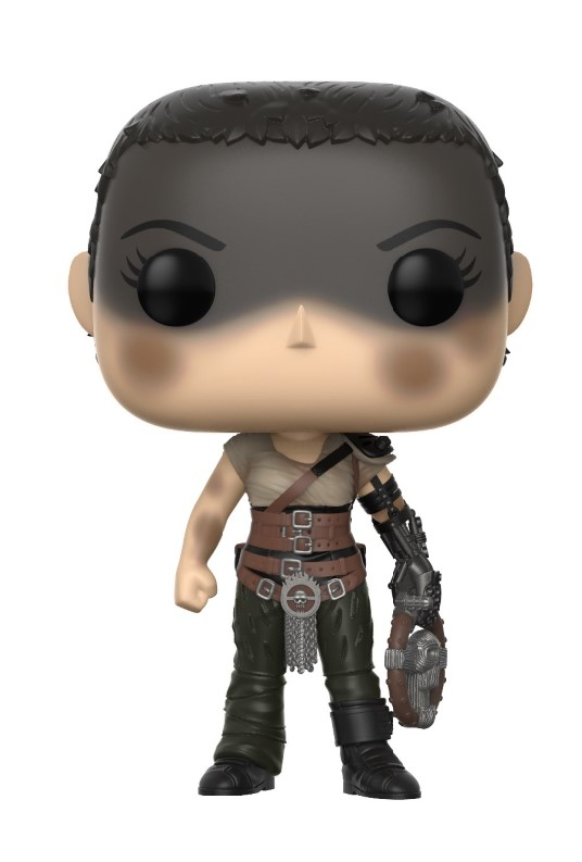 Pop! Movies: Mad Max Fury Road - Furiosa Vinyl Figure 10 cm