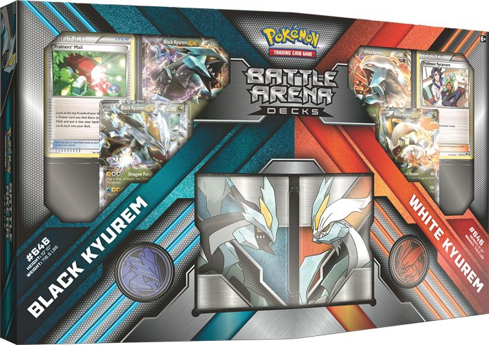 Pokemon Battle Arena Decks Black Kyurem vs. White Kyurem English Version