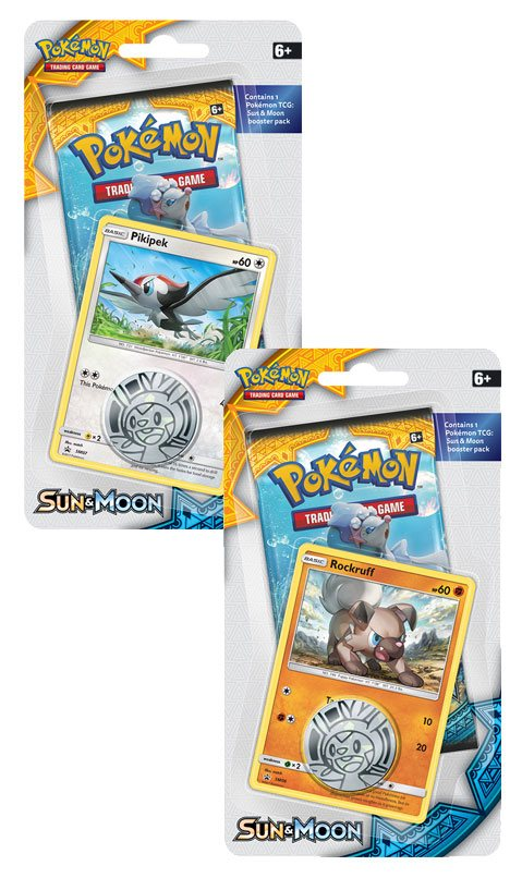 Pokemon Sun and Moon 1 Blister Display (16) English Version
