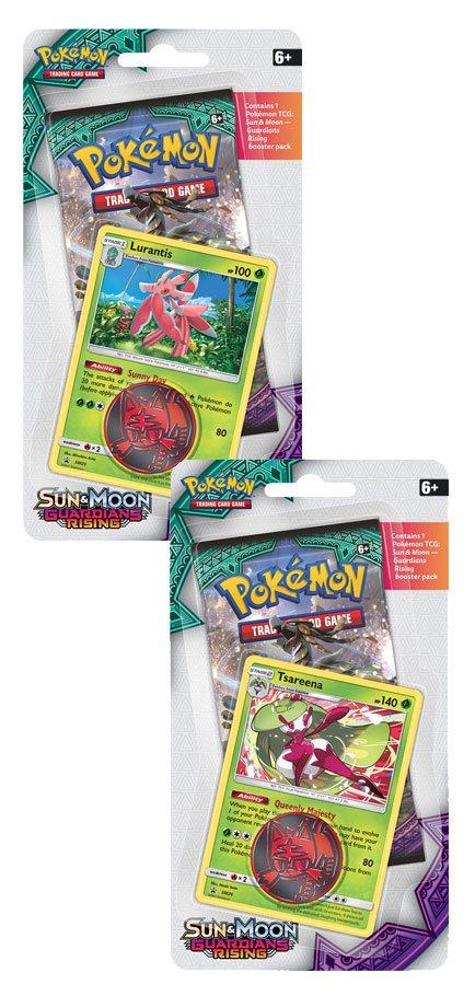 Pokemon Sun and Moon 2 Guardians Rising Checklane Blister Display (16)