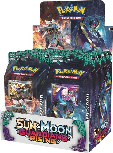 Pokemon Sun and Moon 2 Guardians Rising Theme Deck Display (8)