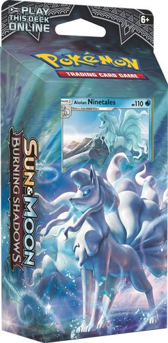 Pokemon Sun and Moon 3 Burning Shadows Theme Deck Display (8) Eng. Version