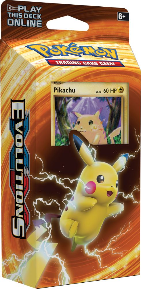 Pokemon XY12 Evolutions Theme Deck Display (8) English Version