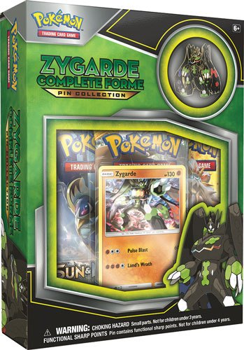 Pokemon Zygarde Complete Collection Box English Version