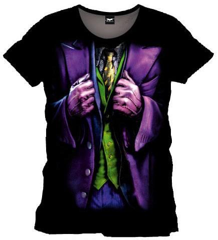 T-Shirt Batman Joker Costume Tamanho S
