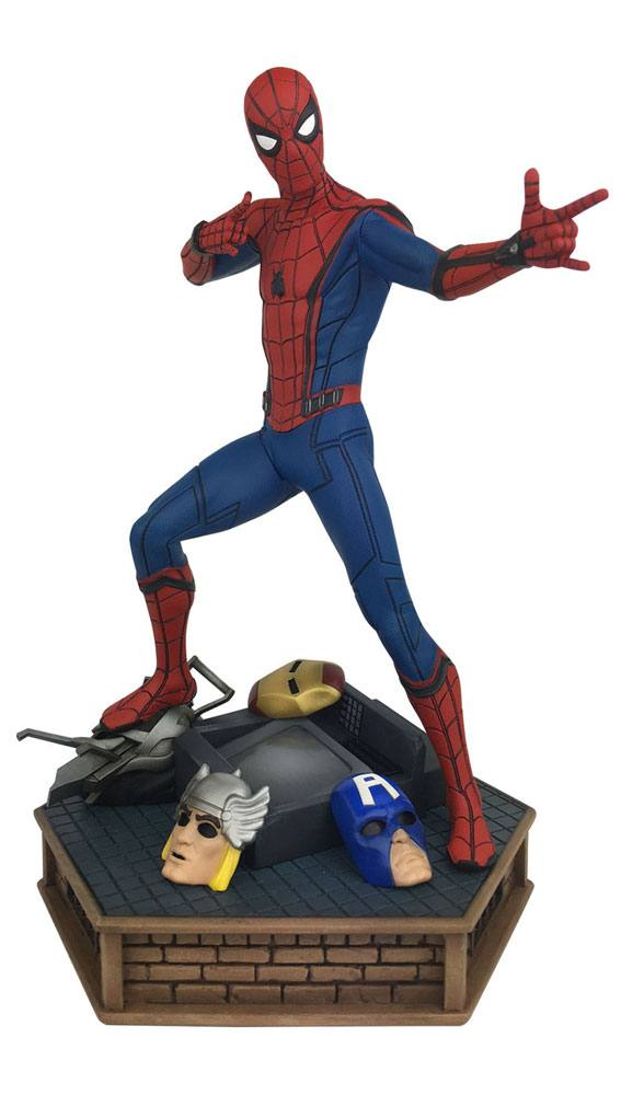 Spider-Man Homecoming Marvel Premier Collection PVC Statue Spider-Man 30 cm