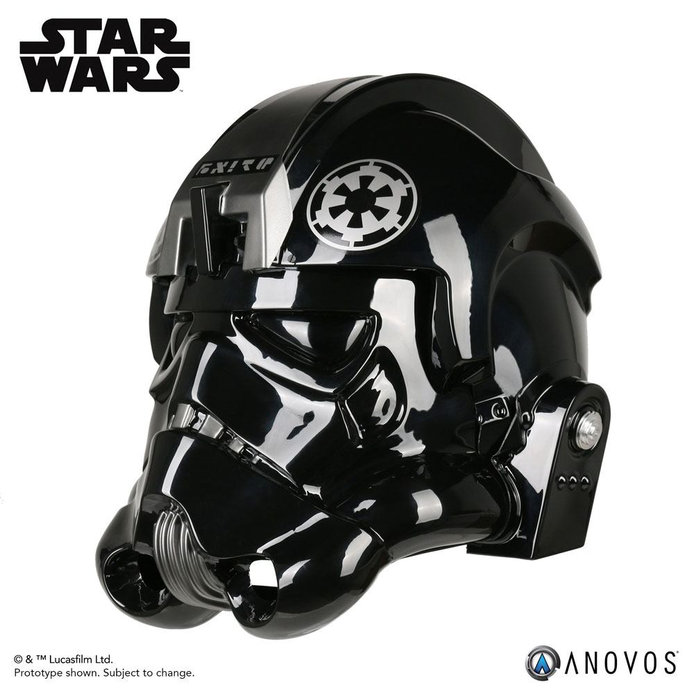 Star Wars Replica 1/1 TIE Pilot Helmet Accessory Ver. Lt. OXIXO Variant