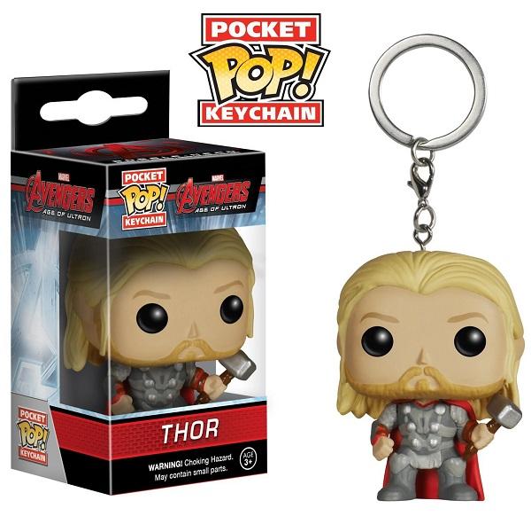Funko Pocket POP! Keychain Marvel Avengers Age Of Ultron - Thor 4 cm