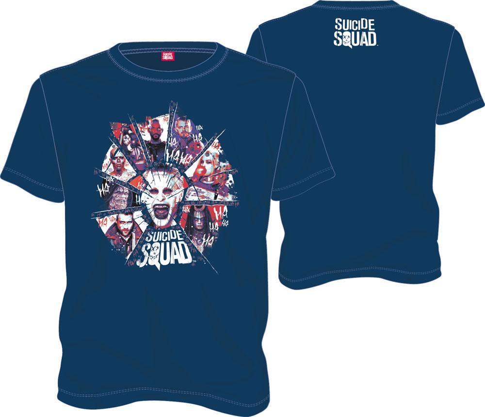 T-Shirt DC Suicide Squad Joker Tamanho M