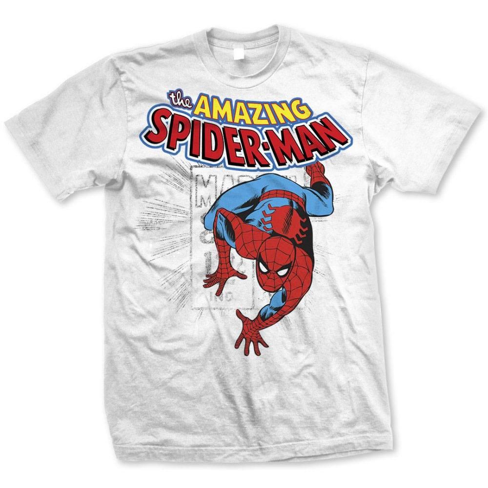 T-Shirt Marvel Comics Spidey Stamp Tamanho S