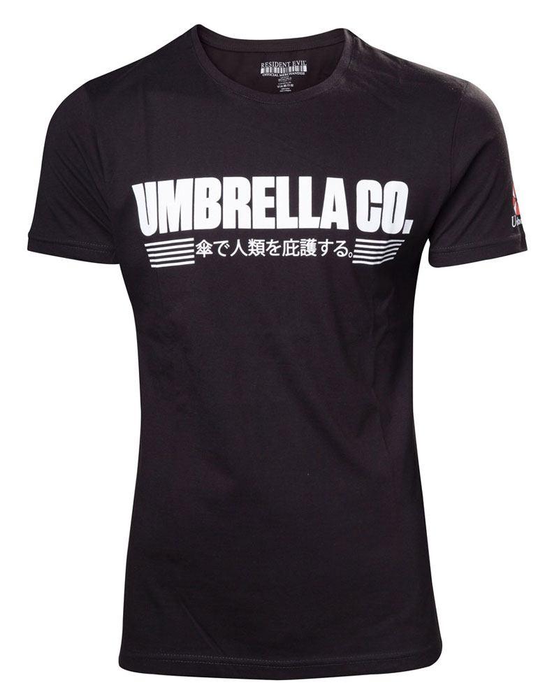 T-Shirt Resident Evil Umbrella Company Japanese Tamanho S